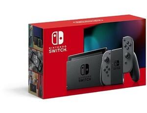 【新品(開封のみ・箱きず・やぶれ)】 任天堂 Nintendo Switch HAD-S-KAAAA グレー