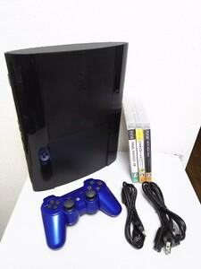 SONY PlayStation PS3本体 プレステ3 4200B 250G中古品 オマケソフト付き