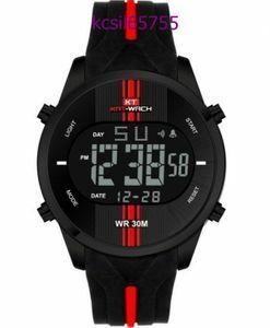 【破格の1円スタート!】男性 防水 スポーツウォッチ Led デジタル腕時計 メンズ時計 1894