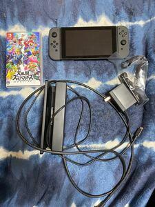 Nintendo Switch 本体 (ニンテンドースイッチ) Joy-Con(L)/(R) グレー バッテリー持続時間がアップ