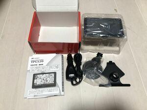 ■未使用ケース内展示品■送料込み■ユピテル YUPITERU YPL520 ポータブルナビ 12V車用 5V型 LEDバックライト アンチグレアディスプレイ