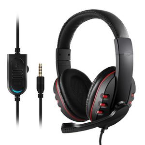 1円~ゲーミングヘッドセット 3.5mm ヘッドホン 密閉型 高音質 マイク付き 伸縮可能ヘッドアーム PS4 Xbox One iPhone スマホなどに対応ZM