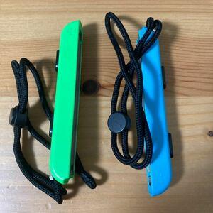 ジョイコンストラップ ネオングリーン ネオンブルー 純正品 ニンテンドースイッチ 本体 switch