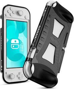 1円 新品 最新 Nintendo Switch Lite 専用TPU ケースカバー黒 任天堂スイッチライト シリコン素材!落下時の破損防止!汚れ・指紋防止!