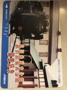 使用済JR西日本オレカ 長浜鉄道博物館 開館記念