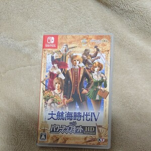 【Switch】 大航海時代IV with パワーアップキット HD [通常版]