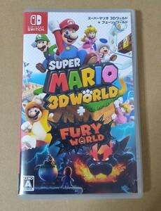 【Switch】 スーパーマリオ 3Dワールド+フューリーワールド Nintendo Switch
