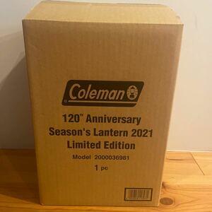 Coleman 120th アニバーサリー シーズンズランタン 120周年 コールマン 2021 新品未開封