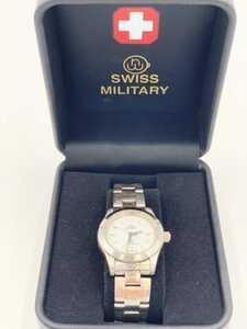 SWISS MILITARY HANOWA スイスミリタリー 腕時計 6-723 クォーツ式腕時計