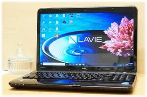 【最新Windows11 or Windows10 選択可能♪】 NEC LaVie LS150/F エスプレッソブラック Pentium / 4GB / 640GB / DVD