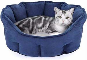 猫ベッド 猫クッション 犬小屋 猫ハウス 暖かい 小型犬 キャット ベッド 寝袋 寝床 ペットハウス クッション 洗える