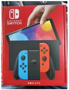 【雑誌撮影に1時間使用】レシート付属!Nintendo Switch/ニンテンドー スイッチ 有機ELモデル 本体 HEG-S-KABAAネオンブルーネオンレッド