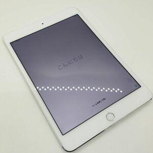 【ジャンク・バッテリー94% 充電回数195回】 iPad mini4 WiFi+Cellular SIMフリー 64GB A1550 本体◆スマモン04