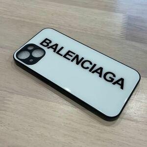 【新品】iPhone13ケース スマホケース BALENCIAGA バレンシアガ ホワイト