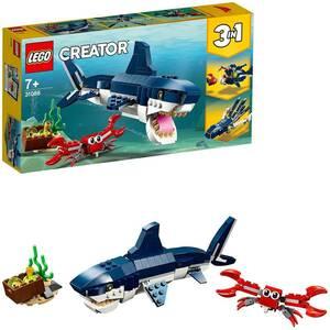新品_レゴ(LEGO) クリエイター 深海生物 31088 知育玩具 ブロック おもちゃ 女の子 男の子