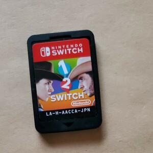 1-2-Switch ワンツースイッチ ソフトのみ 値下げ不可