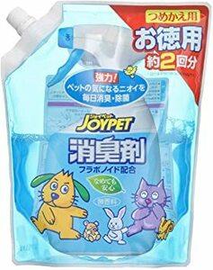 無し 無し JOYPET(ジョイペット) 液体消臭剤 詰め替え用 徳用 650ml