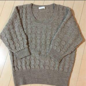 LATO*CALLE ニット セーター 七分袖
