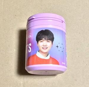 キシリトールガム BTS Smileボトル XYLITOL 防弾少年団 コラボ 数量限定 限定デザイン SUGA シュガ ミン ユンギ 新品 未開封