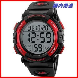 02 防水腕時計 led メンズ 在庫限り 在庫限り watch 新品Timever(タイムエバー)デジタル腕時計 スポーツウォッチ 1T アラーム