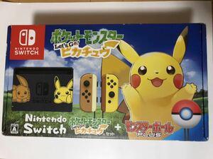 未使用品 Nintendo Switch ポケットモンスター Let''s Go ピカチュウ ニンテンドースイッチ本体 送料無料