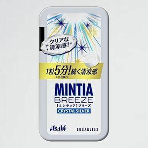 新品 未使用 ミンティアブリ-ズ アサヒグル-プ食品 E-Y2 クリスタルシルバ- 30粒×8個