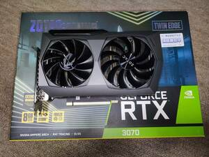 ZOTAC GAMING GeForce RTX 3070 Twin Edge 【非LHR】