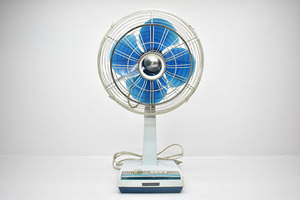 TOSHIBA MC形 扇風機 30cm 4枚羽根 ロータリーベース [東芝][昭和レトロ][当時物][アンティーク][ビンテージ]M