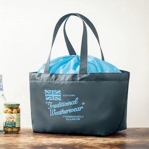 トラディショナル ウェザーウェア 軽い! 持ち歩きやすい マチたっぷり買い物バッグ