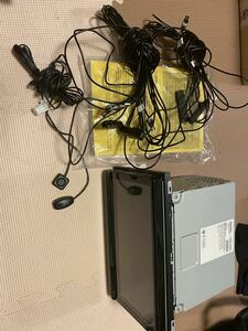 美品!トヨタ純正 大型ナビ 9インチ NSZT-Y68T(取扱説明書付き)フルセグTV DVD再生 T-Connect Bluetooth 作動確認済み!