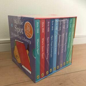 【CD付き】コロちゃん Spot 仕掛け ボードブック 英語絵本10冊 正規品