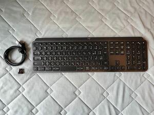 ロジクール ワイヤレスキーボード KX800 MX KEYS bluetooth Unifying Windows Mac