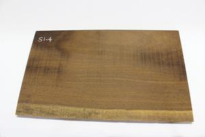 ◇唐木 素材 銘木 加工材 板材 DIY 建築材料 無垢 一枚板 貴重 重厚 木目綺麗 アサメラ材(乾燥材) Si-4