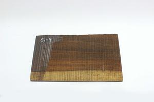 ◇唐木 素材 銘木 加工材 板材 DIY 建築材料 無垢 一枚板 棚板 前板 飾り板 木目綺麗したん 銘木 紫檀材(乾燥材) Si-9