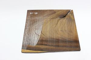 ◇唐木 素材 銘木 加工材 板材 DIY 建築材料 無垢 一枚板 棚板 飾り板 木目綺麗したん 銘木 紫檀材(乾燥材) Si-10
