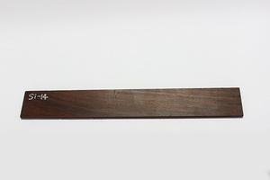 ◇唐木 素材 銘木 加工材 板材 DIY 建築材料 無垢 一枚板 棚板 前板 飾り板 木目綺麗したん 銘木 紫檀材(乾燥材) Si-14