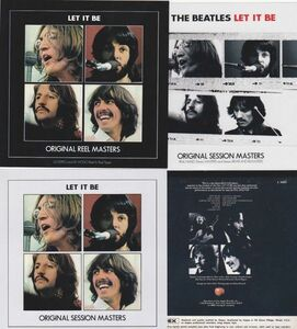 [2CD] THE BEATLES / LET IT BE-ORIGINAL SESSION+REEL MASTERS