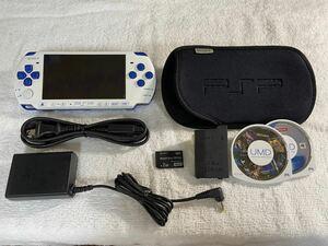 PSP-3000(PSPJ-30018) バリューパック ホワイト/ブルー