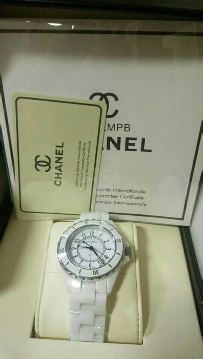 シャネル 腕時計 J12