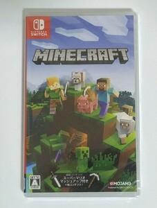Minecraft Switch マインクラフト 新品未開封