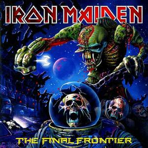 ◆◆IRON MAIDENTHE FINAL FRONTIER 2010年作 アイアン・メイデン ファイナル・フロンティア 即決 送料込◆◆