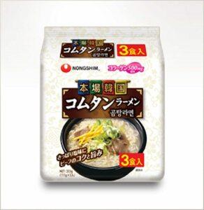 1円スタート★農心コムタンラーメン111g3食入り×12袋(36食分)