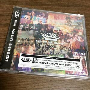 BiSH / FOR LiVE -BiSH BEST- ベスト盤 新品同様美品 グッズ CD 2枚組 (検) DVD Tシャツ タオル