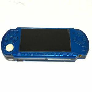 PSP-3000 本体 ブルー ジャンク品 本体のみ