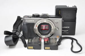 王道ミラーレスカメラ パナソニック Panasonic LUMIX DMC-GX1 ボディ ♯A1275