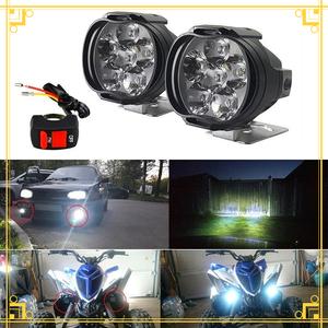 ★★注目商品1円スタート★★オートバイ 8 ワット LED ヘッドライト バイクスクーター ランプ フォグ ランニングライト