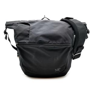 送料無料 アークテリクス ARC'TERYX ショルダーバッグ メッセンジャーバッグ 鞄 斜め掛け 09T-1018106 ミストラル16 ナイロン 黒系 メンズ
