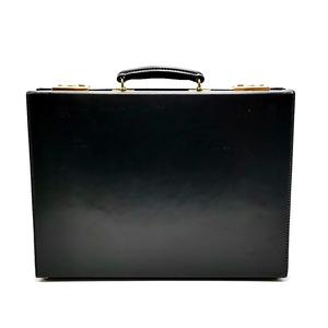 送料無料 美品 スウェイン アドニー ブリッグ SWAINE ADENEY BRIGG ビジネスバッグ ブリーフケース 書類カバン 鞄 レザー 本革 黒 メンズ