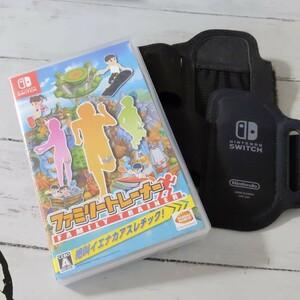 Nintendo Switch 任天堂スイッチ Switch ファミリートレーナー レッグバンド付き2個