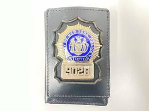 ニューヨーク市警 警察手帳 レプリカ 警察グッズ コレクション